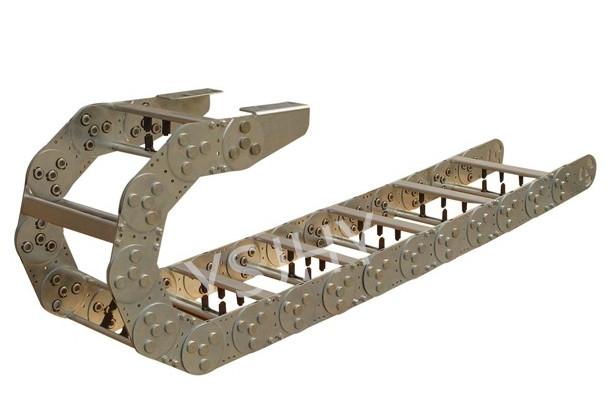 JHY-TL225型钢制拖链安装尺寸图